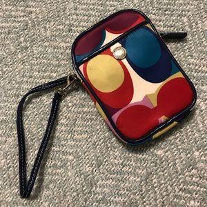 Coach camera case